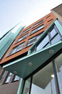 Photo of Vaughan Way student flats in Leicester