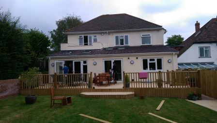 Photo of house extension in Portsmouth