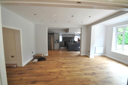 House remodelling in Sutton Coldfield